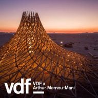 Arthur Mamou-Mani shares unseen drone footage of Burning Man project Galaxia at VDF