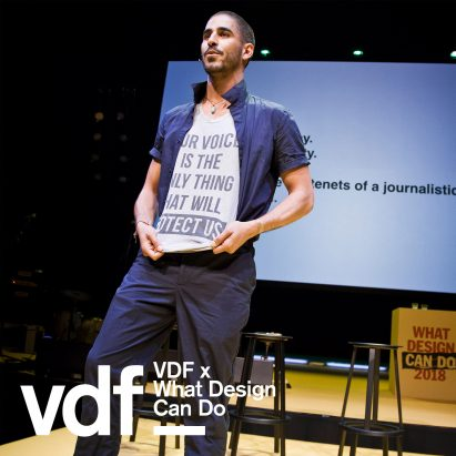 VDF x What Design Can Do Ahmed Shilab Eldin