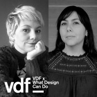 Live talk on gender equality in design as part of VDF's collaboration with What Design Can Do
