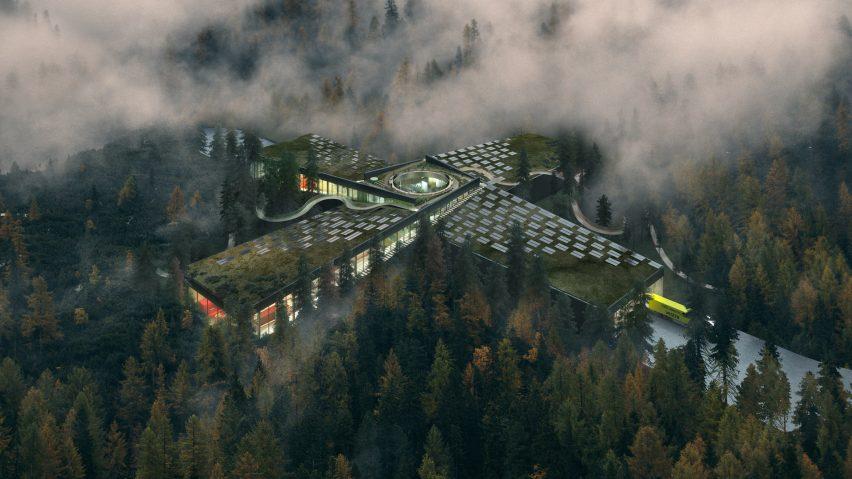 Vestrefurniture factory in Magnor, Norway, by BIG