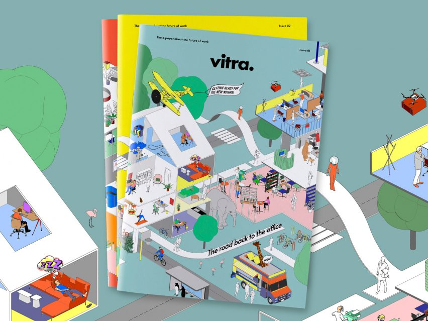 The Road Back to the Office research papers published by furniture brand Vitra