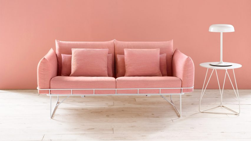 Wireframe Sofa by Sam Hecht and Kim Colin for Hermann Miller