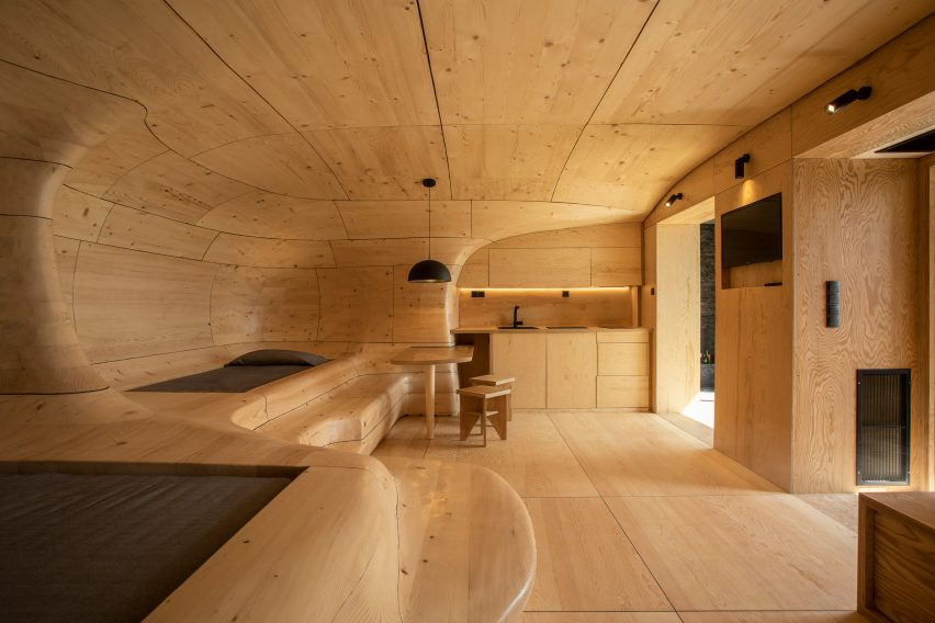 Wooden Cave by Tenon Architecture