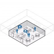 Woods Bagot devises office layouts for workplaces post-coronavirus