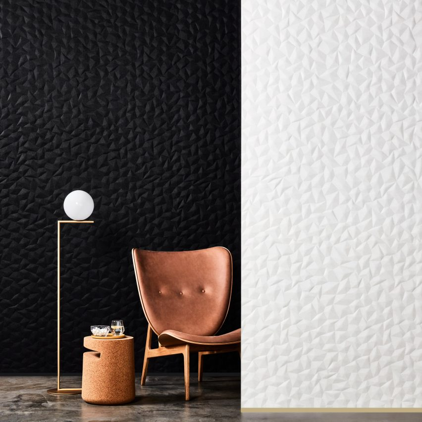 Woven Image releases minimal Zen and Ion embossed wall panels