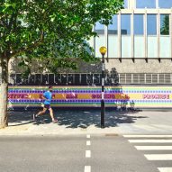 Yinka Ilori creates message of hope in support of NHS