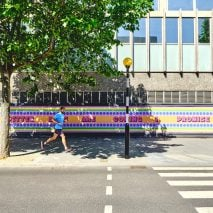 """""""Better days are coming I promise"""" art work by Yinka Ilori for the NHS"""