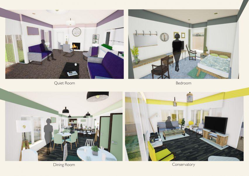 York St John interior design students reimagine spaces for the elderly
