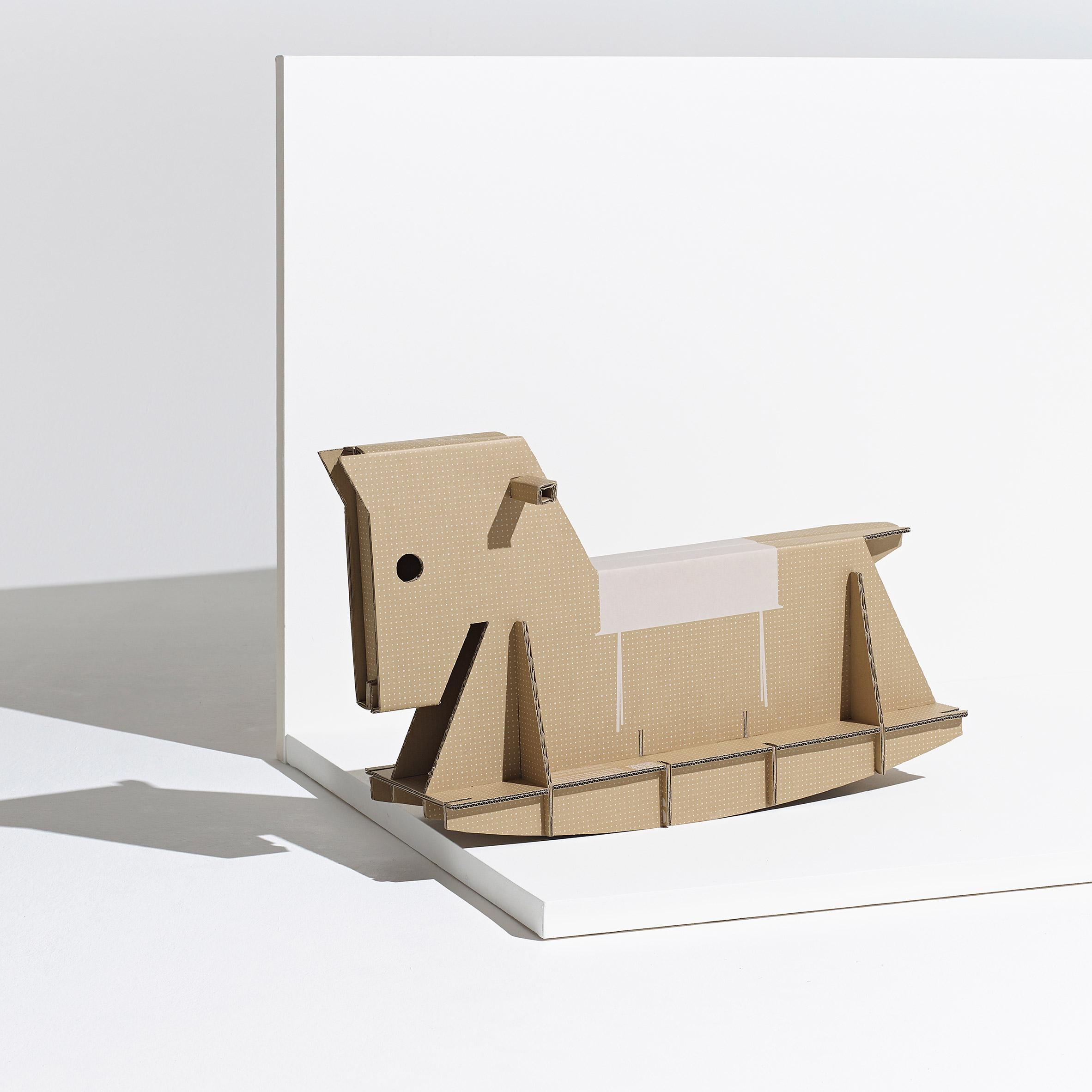 The Rider rocking horse by André Cardoso