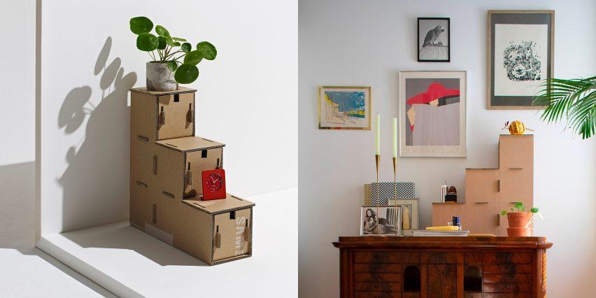 Kibe storage unit by Revaz Berdzenishvili
