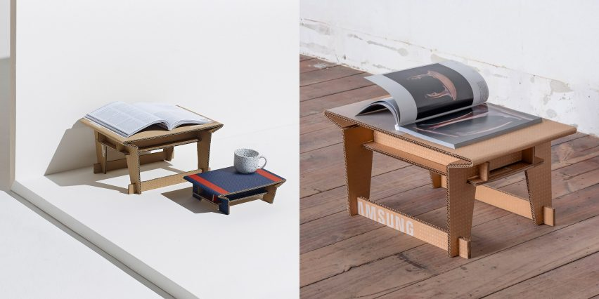 The Soban tables by beFormative
