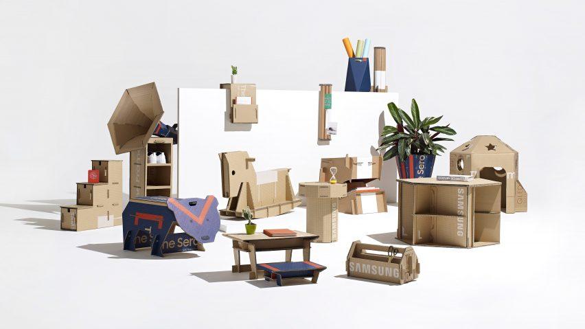 interior design light box studio set