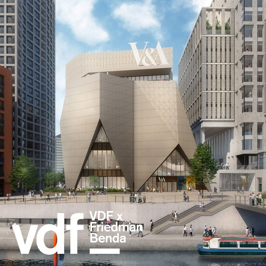 V&A East museum by O'Donnell + Tuomey