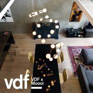 Moooi launches new lights by Marcel Wanders and Joost van Bleijswijk at VDF