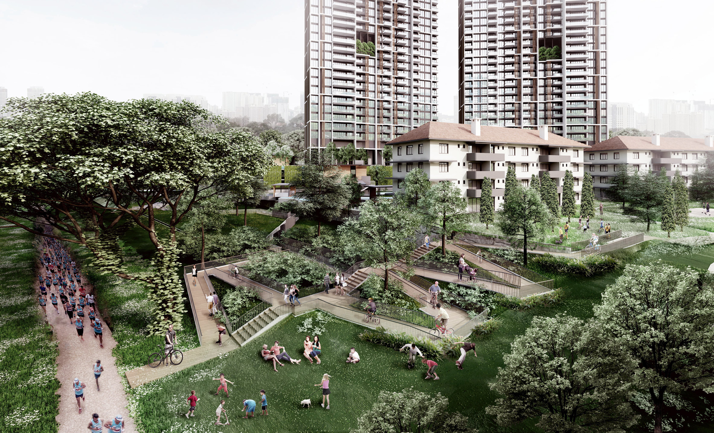 Avenue South Residences, world'stallest prefabricated skyscrapers in Singapore by ADDP