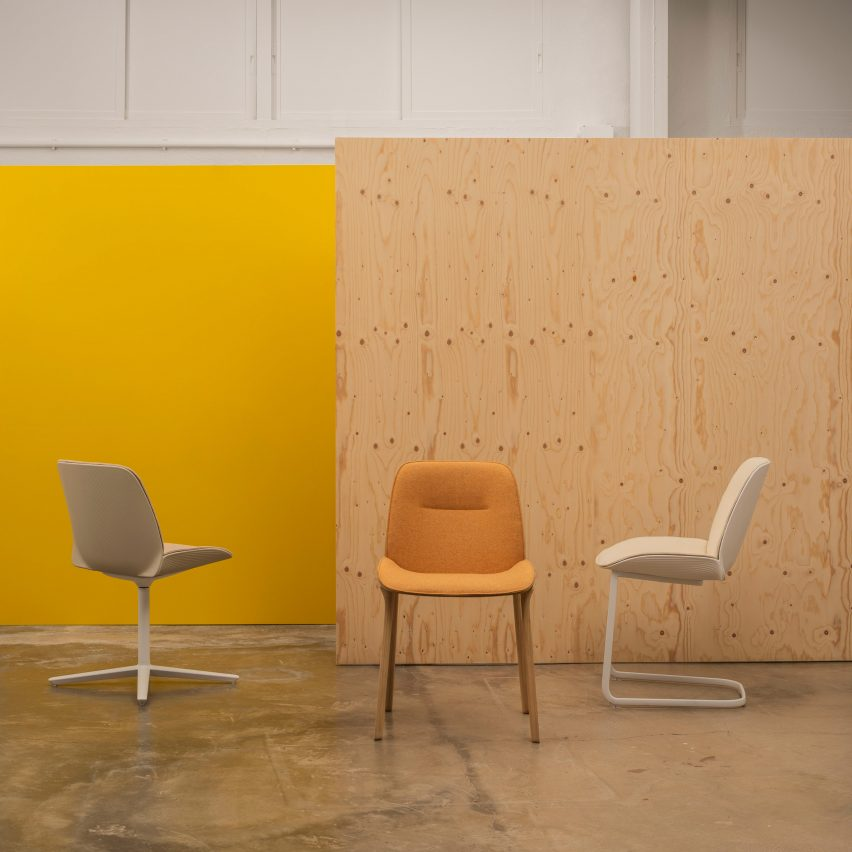 Nuez chairs by Patricia Urquiola for Andreu World