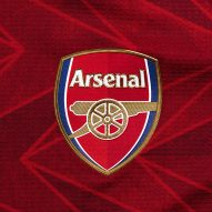 Arsenal 2020/2021 home shirt by Adidas