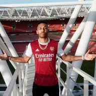 Arsenal unveils chevron-covered kit informed by club's art deco history