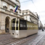 Arturo Tedeschi redesigns historic Milan tram for a post-Covid world