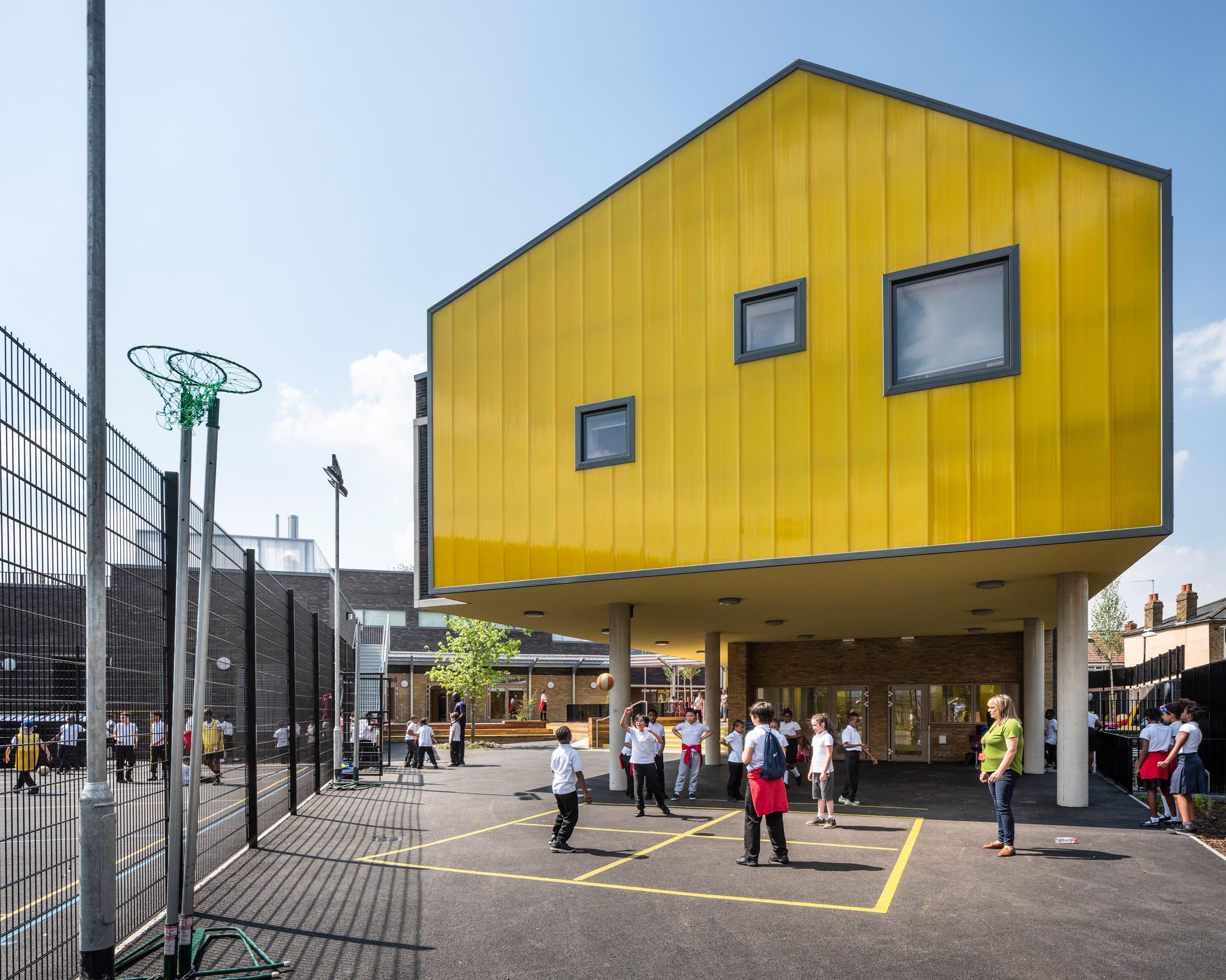 Bellenden Primary School in Peckham, London, by Cottrell and Vermeulen Architecture