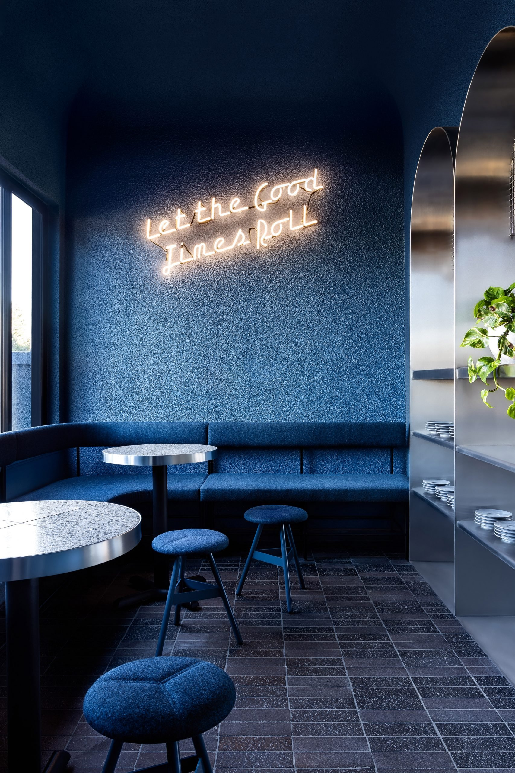 Billie Buoy restaurant in Melbourne designed by Biasol