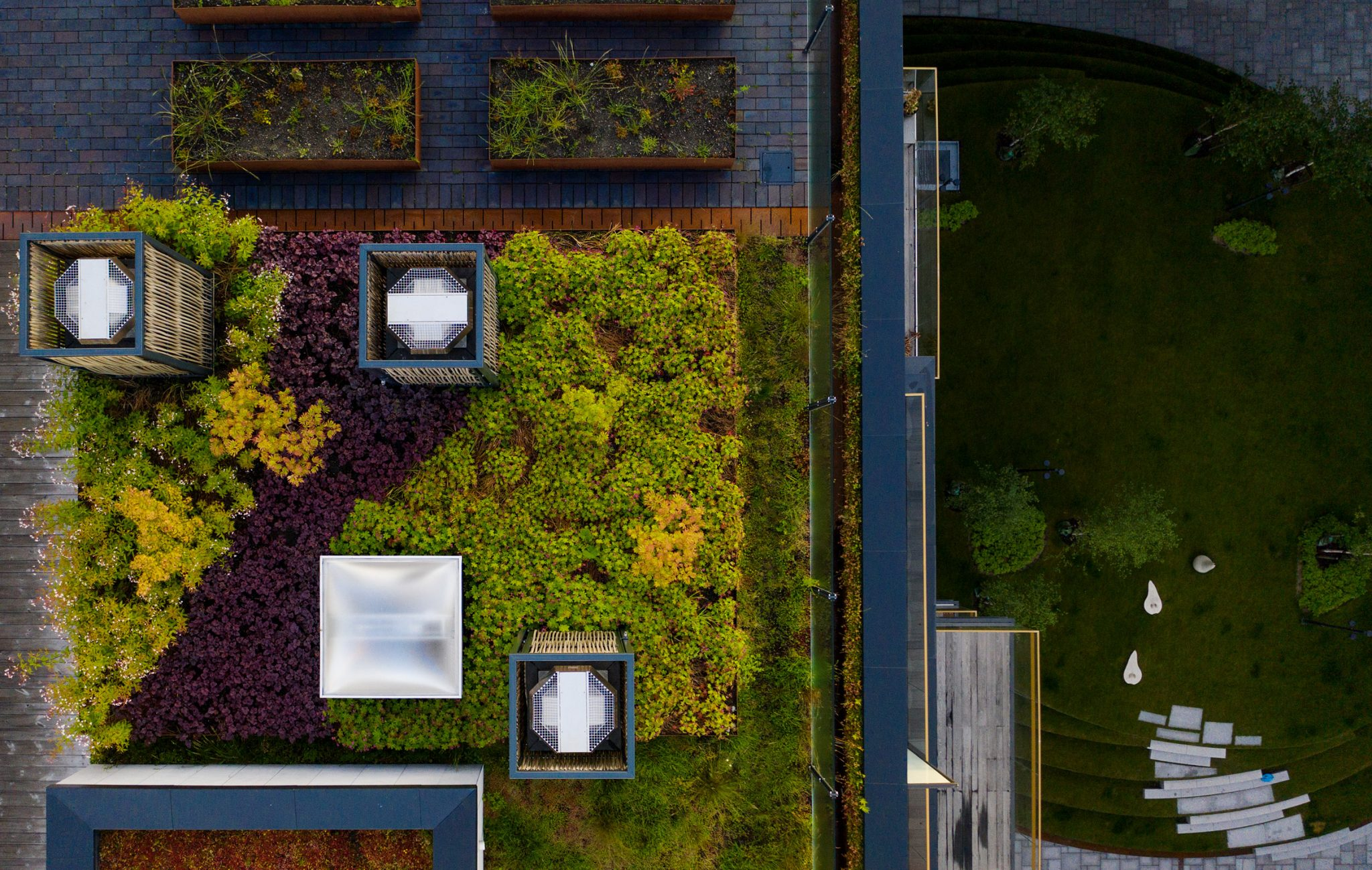 """BMI Group creates """"active"""" roofs that double as water reservoirs and gardens"""