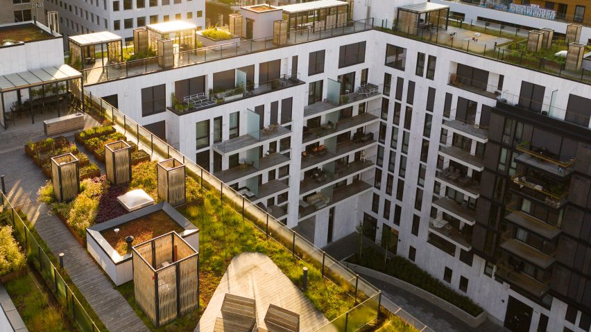 "BMI Group creates ""active"" roofs that double as water reservoirs and gardens"