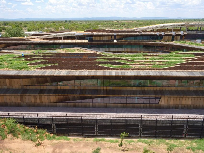 Botswana Innovation Hub and HIV Research Lab, Gaborone, Botswana, by SHoP Architects