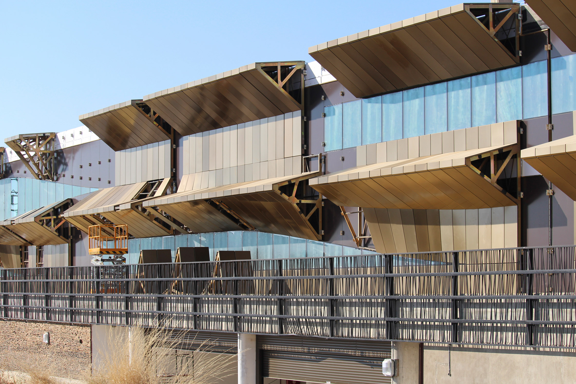 Botswana Innovation Hub and HIV Research Lab, Gaborone,Botswana, by SHoP Architects