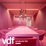 Lensvelt spotlights furniture by OMA, Richard Hutten and Staat at the VDF products fair