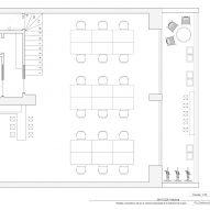 Cabinette co-working space in Valencia designed by Masquespacio