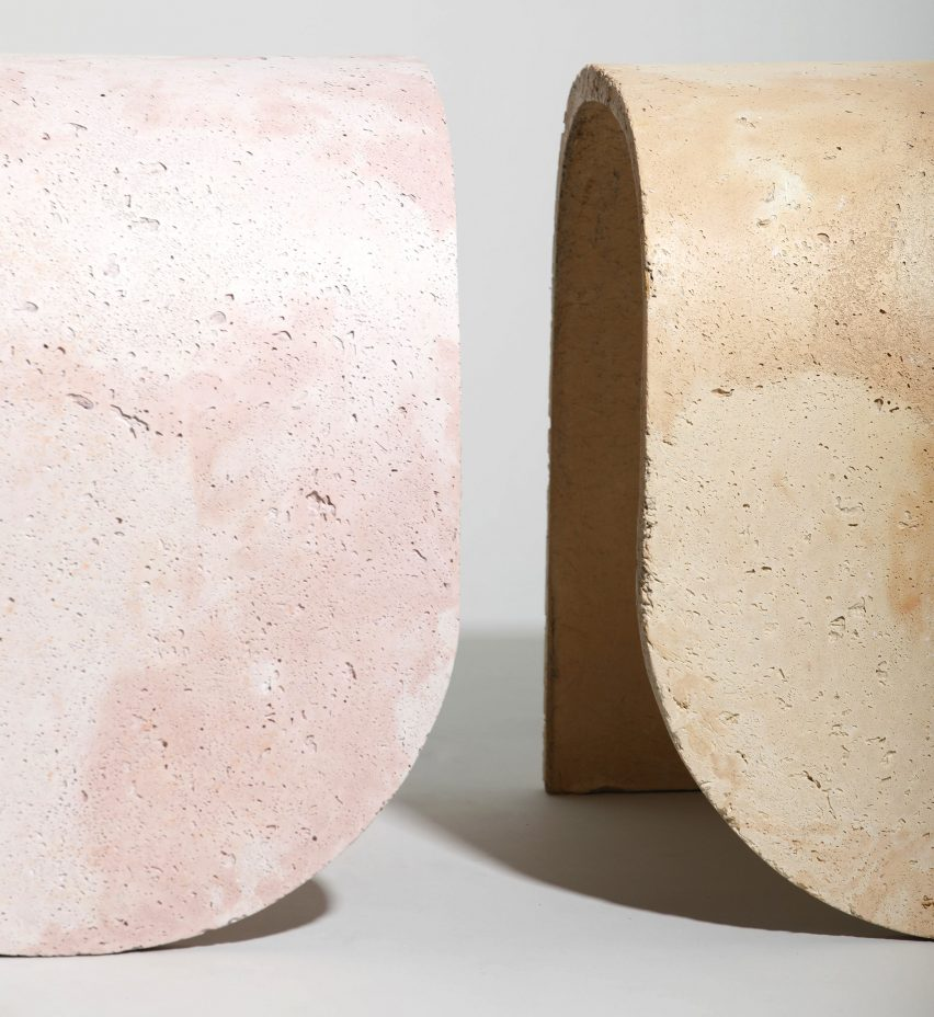 Candy Colored Concrete Stools by J Byron-H