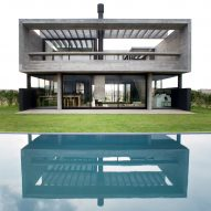 Architect builds herself concrete Casa Castaños on outskirts of Buenos Aires