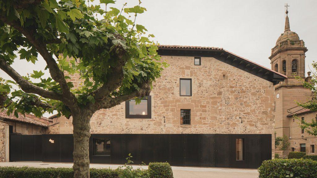 Casa Grande Hotel in Spain occupies 18th-century stone manor house