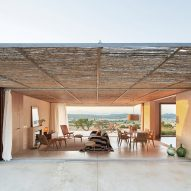 OHLAB frames cinematic views of the landscape for hotel in Mallorca
