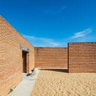 Casa Wabi ceramics pavilion by Alvaro Siza