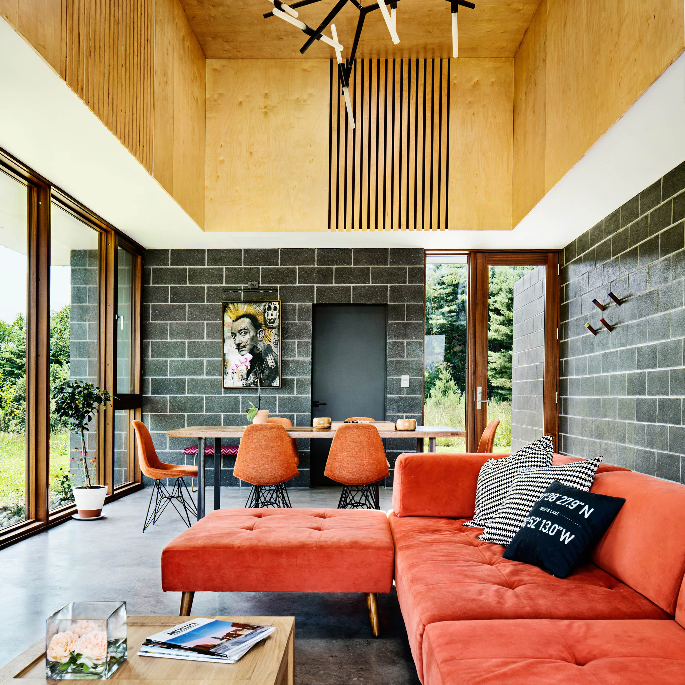 Catskills House in New York State by J_spy Architecture