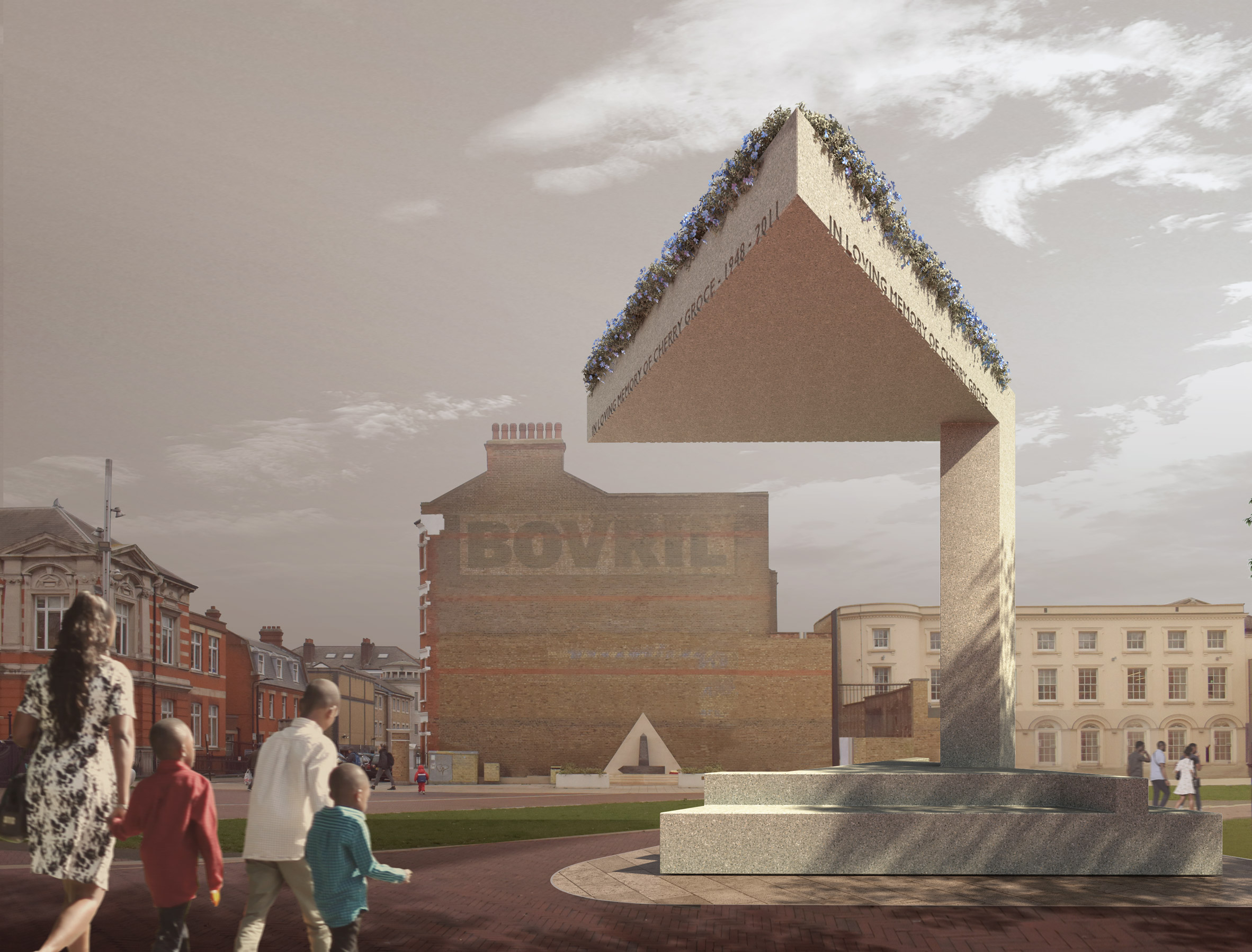 Cherry Groce memorial by David Adjaye