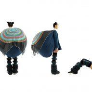 Dahee Kim attaches bulbous beanbags to uniform-esque garments