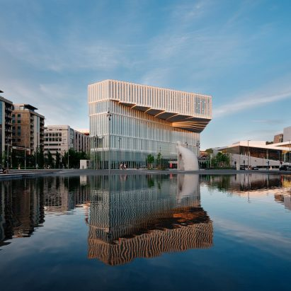 Deichman Bjørvika central library in Olso, Norway by Atelier Oslo and Lund Hagem
