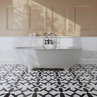 Holiday and Dove modular bathtubs by Gensler for Devon&Devon