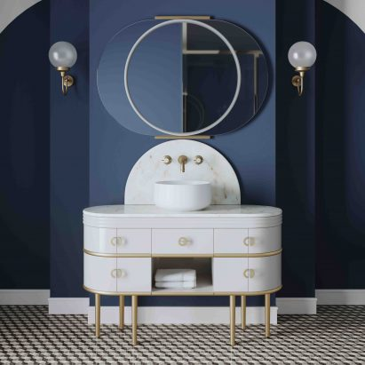 Scottie vanity unit by Devon&Devon