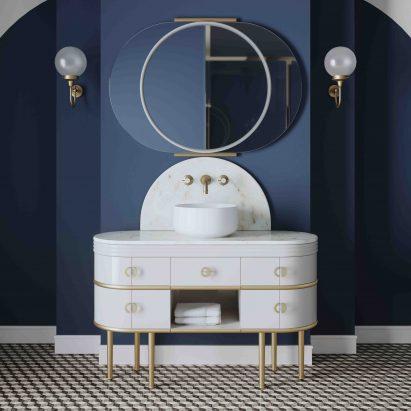 Scottie vanity unit by Devon&Devon