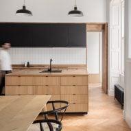Architect couple turns Edinburgh apartment into modern living space