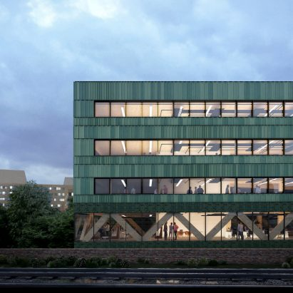 Paradise net-zero carbon office, London, by Feilden Clegg Bradley Studios