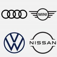 Seven car brands that have returned to flat logo designs