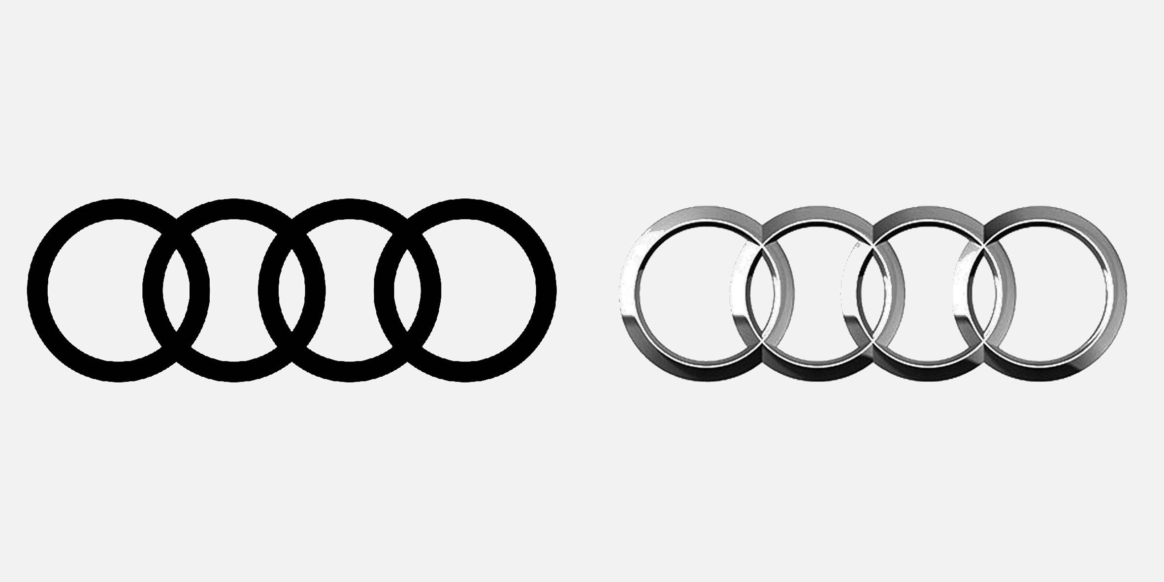 Seven car brands that have returned to flat design for logos