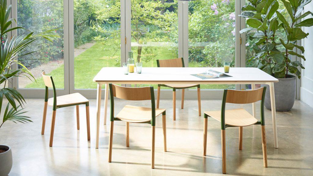 "Allermuir designs Folk dining furniture to be ""timeless"""