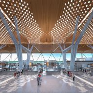 CallisonRTKL unveils Guadalajara airport terminal informed by Mexico's canyons