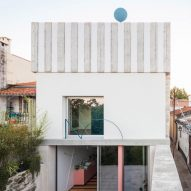 Fala Atelier renovates house in Porto with candy-coloured accents
